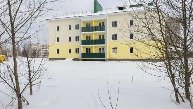 ЖК в деревне Сяськелево